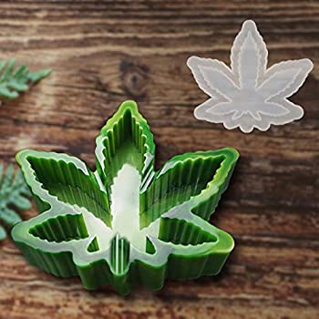 Maple Leaf Ashtray Resin Mold DIY Epoxy Silicone Mold,Jewelry Molds for Resin Casting Silicone Mold for DIY Making