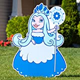 3 ft. 9 in. Candy Land Princess Frostine Yard Sign