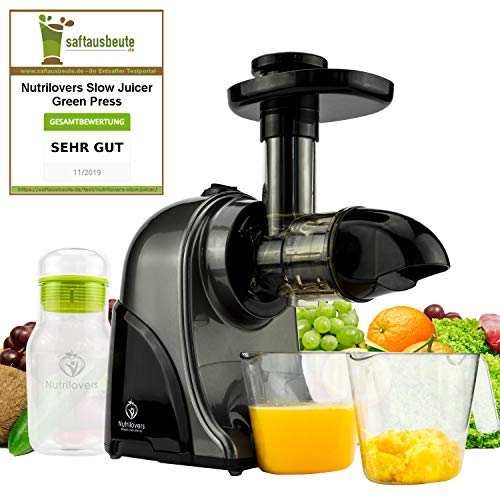 Nutrilovers Slow Juicer GREEN-PRESS