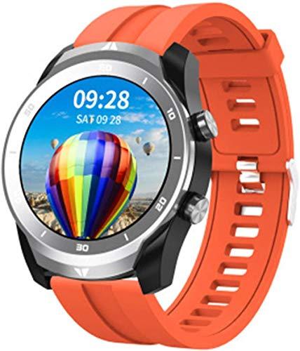 hwbq Pantalla Reloj Inteligente Ritmo Cardíaco Fitness Tracker Pulsera Monitoreo de Presión Arterial Impermeable Gestión de la Salud-A