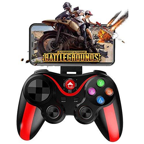 Xjdmg Controller Gamepad, Schalter Fern Joypad Steuer Spiele Joystick for Schießen Kampf Racing Game Gamepad Wireless Game Controller (Color : Red)
