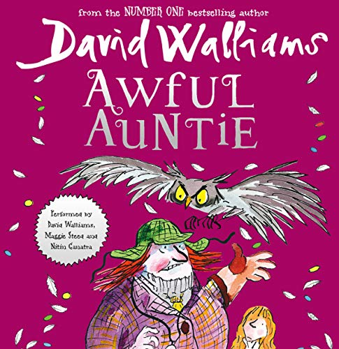 Awful Auntie                   By:                                                                                                                                 David Walliams                               Narrated by:                                                                                                                                 David Walliams,                                                                                        Maggie Steed,                                                                                        Nitin Ganatra                      Length: 5 hrs and 8 mins     683 ratings     Overall 4.6
