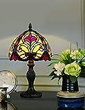 Lámpara de mesa de estilo de 8 pulgadas dormitorio lámpara de cabecera moda creativa lámpara hecha a mano retro