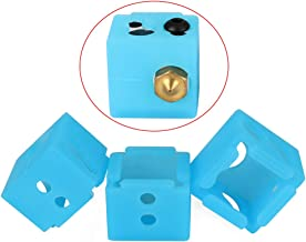 FYSETC 3D Printer Parts MP Select Mini V2 Silicone Sock BP6 Heater Block Silicone Cover Hotend Protect for Anycubic Hotend/Monoprice MP Select Mini V2/ MP Mini Delta, 3Pcs