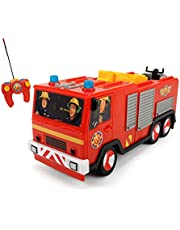 Dickie Toys Fireman Sam RC Turbo Jupiter, Red