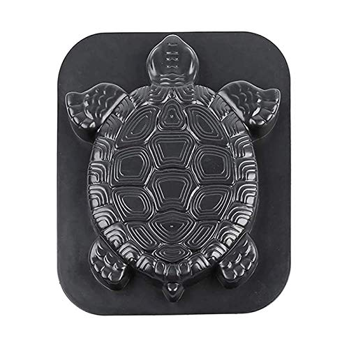 Concrete Molds for Stepping Stones Reusable Heavy Duty Paving Pavement Mold, Garden Sea Turtle Mould Tortoise Paving Mould for Making Stepping Stones Pathway Stone,Yard Garden DIY Path Maker Paving