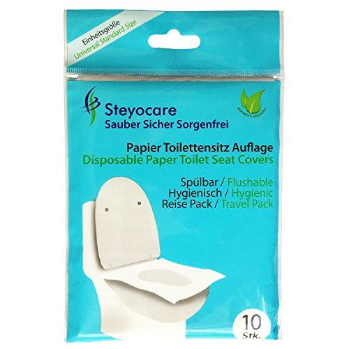 Toiletten Seat Cover, Dixie-Sitzschutz (30 Stück)
