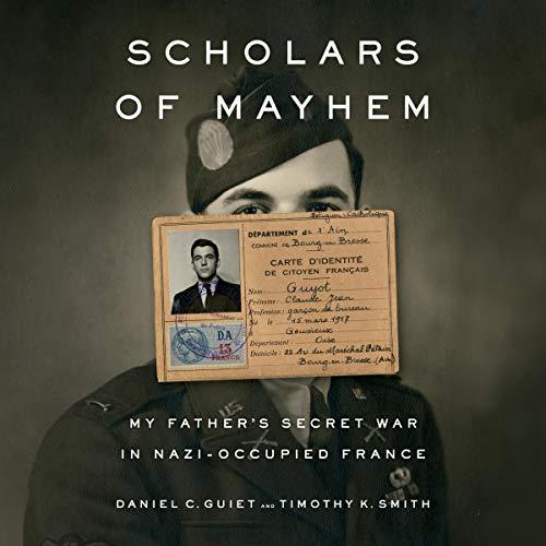Scholars of Mayhem audiobook cover art