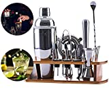 Best Bartender Kits - VINEALLEY 16-Piece Bartender Kit with Bamboo Stand 24 Review