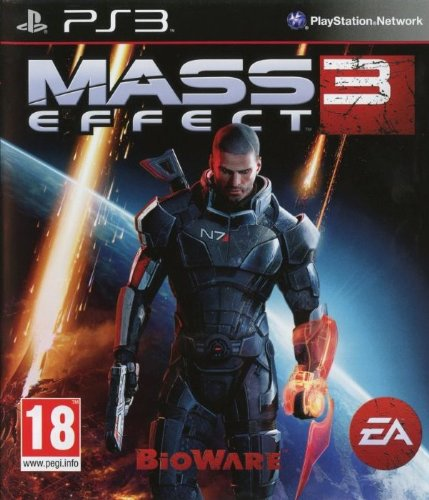 MASS EFFECT 3 PS3 EN EU PEGI 18