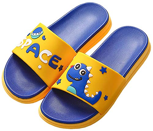 Gaatpot Donne Uomo Antiscivolo Pantofole Ciabatte da Bagno Unisex Bambini Scarpe da Spiaggia e Piscina Blu Scuro 37/38 EU = 38/39 CN