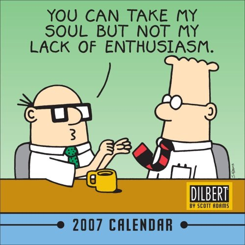 Dilbert 2007 Mini Wall Calendar