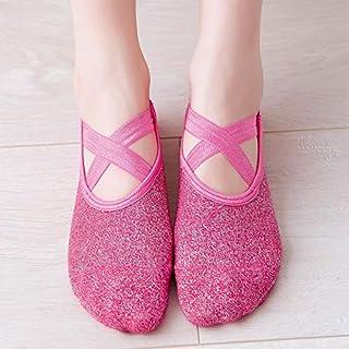 New Sports Yoga Socks Slipper Women Anti Slip Cotton Ladies Pilates Socks Ballet Heel Protector Professiona Yoga Dance Socks