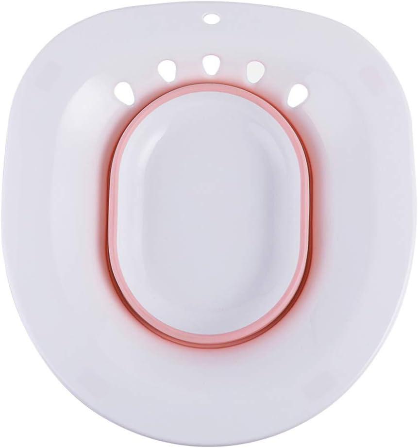 Vermeiden Kniebeugen Schwangere und /ältere Menschen Tragbares Bidet Einsatz Sitzbadewanne f/ür H/ämorrhoidenbehandlung BST/&BAO Sitzbad f/ür die Toilette Wochenbettpflege