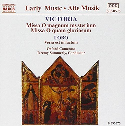 Lobo/Victoria: Ave Maria / Messen