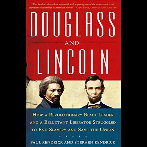 Douglass and Lincoln audiobook cover art