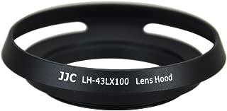 JJC lh-43lx100Metal Lens Hood Shade for Panasonic Lumix DMC - lx100& Leica d-lux (Typ 109) カメラ