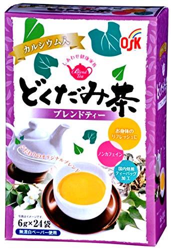 小谷穀粉 OSK OKしあわせ健康家族 どくだみ茶ティーパック(6g×4袋)×3個