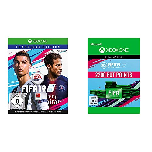 FIFA 19 Champions - FUT Points Bundle (inkl. FIFA 19 Champions Edition, 2200 FUT Points) [Xbox One, DE]