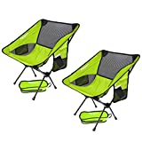 FBSPORT Lightweight Folding Camping/Beach Chair, Compact & Heavy Duty (Supports 330 lbs) Portable Chairs For...