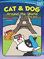 SPARK Cat & Dog Around the World Coloring Book (Dover Coloring Books)