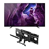 Sony XBR-65A8H 65-Inch BRAVIA OLED 4K Smart TV with HDR (2020 Model) Mount Bundle (2 Items)