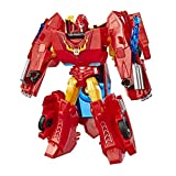 Transformers E3638 Cyberverse Action Attackers: Warrior Class Hot Rod Action Figure Toy