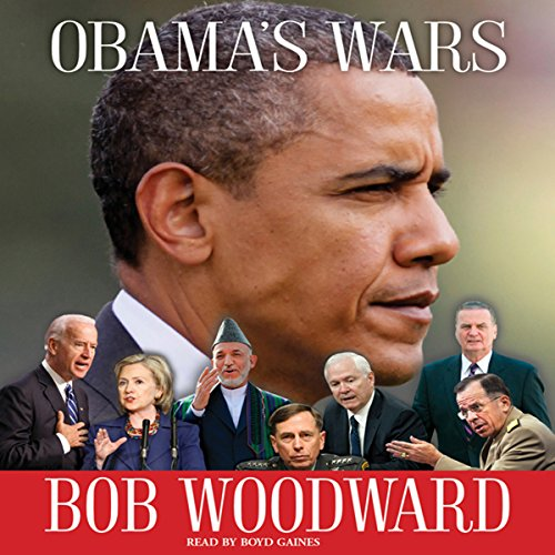 Obama's Wars audiobook cover art