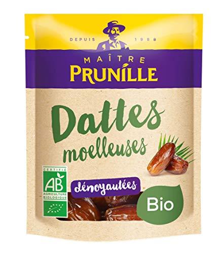 Maître Prunille Dattes Dénoyautées Moelleuses Fruit Sec, Bio, 250g