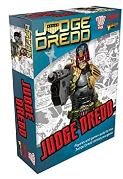 Warlord Judge Dredd Figure and Lawmaster Bike for Judge Dredd Miniatures Table Top War Game 652410101