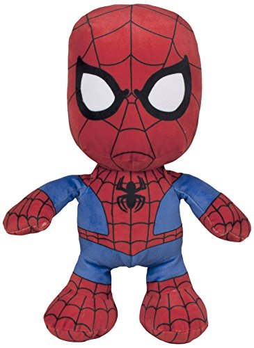 Spiderman-Peluche Floppy, 30 cm, (Famosa 760015297)