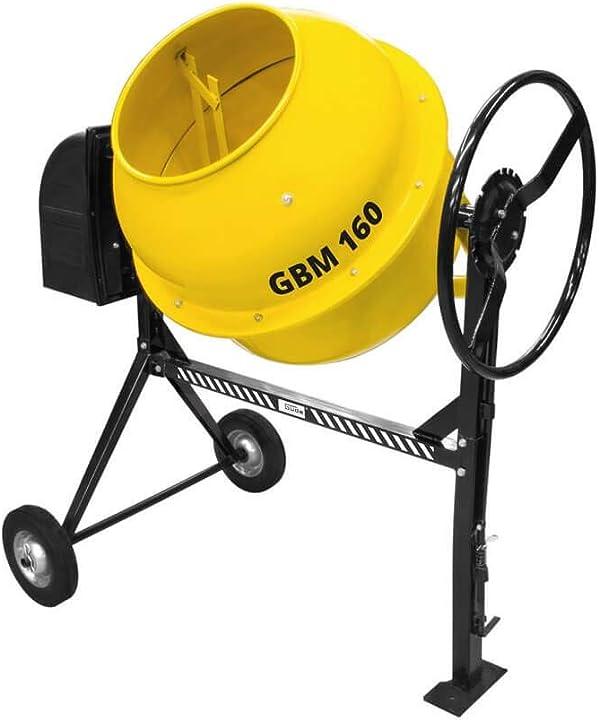 Betoniera 160 litri gÜde gbm 160 55456