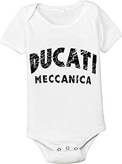 RTGreat Babys Bodysuit Romper Jumpsuit Baby Clothes Outfits Ducati Logo Body de beb/é