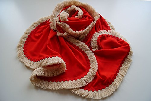 Pañuelo-Chal elaborado a mano, diseño único y exclusivo.