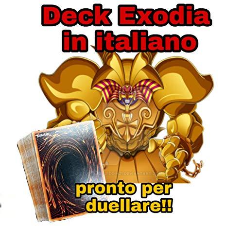 Yu-Gi-Oh! - Deck Completo - EXODIA Il Proibito - Mazzo Completo di 40 Carte Pronto per Duellare