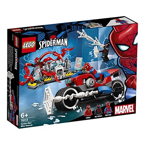 LEGO 76113 Super Heroes Spider-Man Motorradrettung...