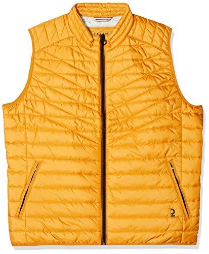 Calamar Herren Light-Weight Outdoor Weste, Gelb (Yellow 64), Medium (Herstellergröße: M)