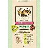 ニュートロジャパン ナチュラルチョイス [全犬種用] 子犬用 ラム&玄米 3kg