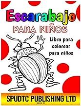 Escarabajo para niños: Libro para colorear para niños (Spanish Edition)