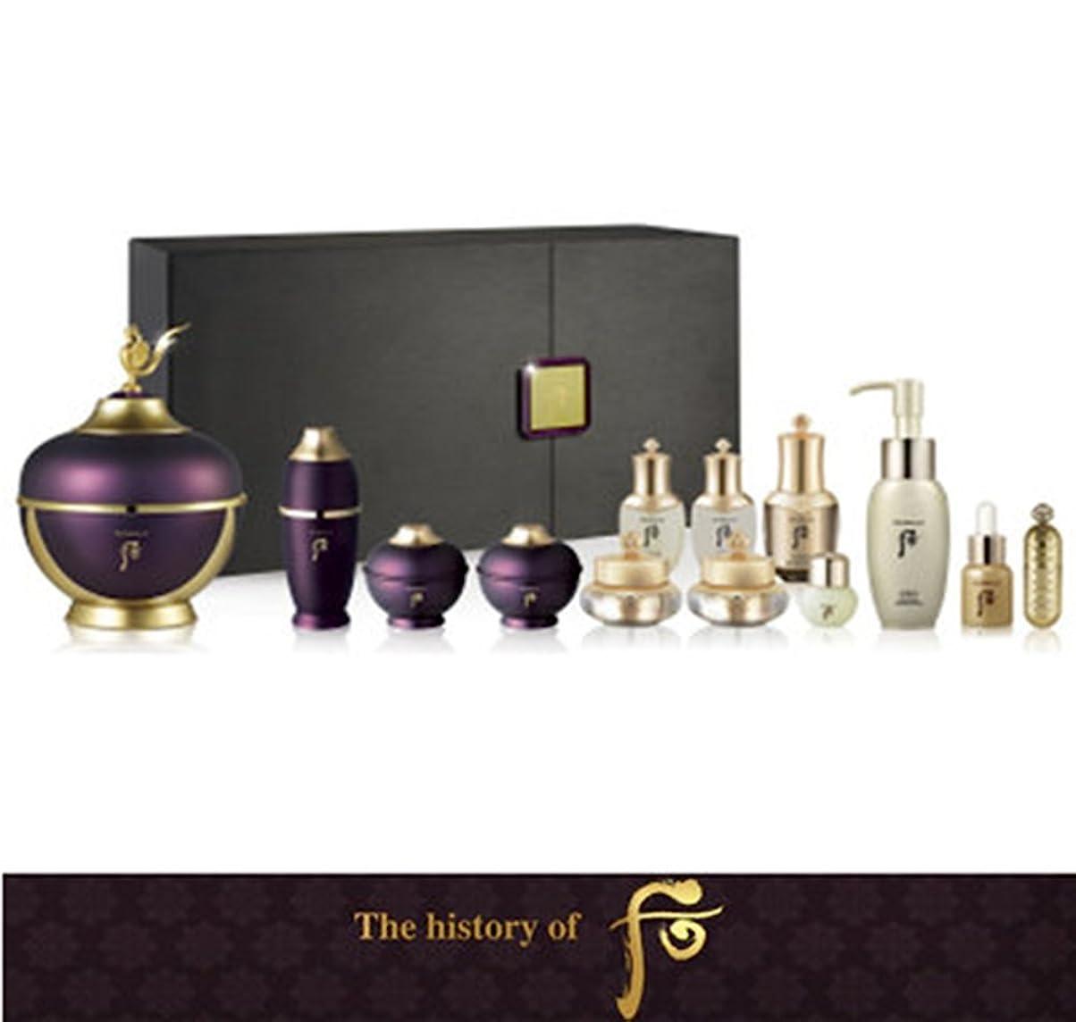 【フー/The history of whoo] Whoo后 Hwanyu Cream Special Limited Set/后(フー)よりヒストリー?オブ?後環ユーゴクリーム60ml スペシャル限定版セット +[Sample Gift](海外直送品)