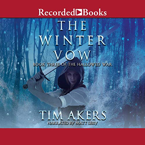 The Winter Vow audiobook cover art