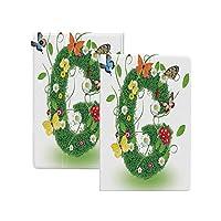 iPad Pro 12.9 ケース 2020 手紙G、春のインスピレーションを得た葉自然のテーマ蝶とPapiliosワイルドフラワーG記号装飾、多色 手紙G ソフトフレキシブルTPUバックカバー付き オートスリープ/ウェイク 角度調節可能なスタンド iPad Pro 12.9 2020年専用 多色