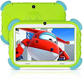 ANTEMPER Tablet per Bambini 7 Pollici,Android 9.0 Quad Core,2GB RAM 16GB ROM/128GB Espandibile,WiFi Bluetooth,IPS HD 1024 ...