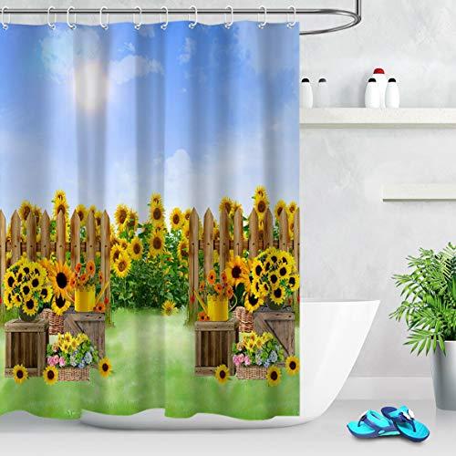 cortinas de baño rusticas