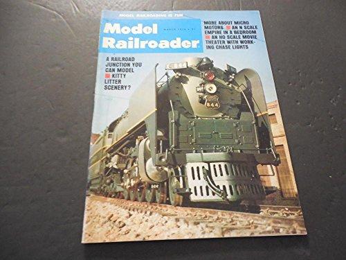 Model Railroader Mar 1976, Micro Motors, HO Scale Movie Theater With Lighta