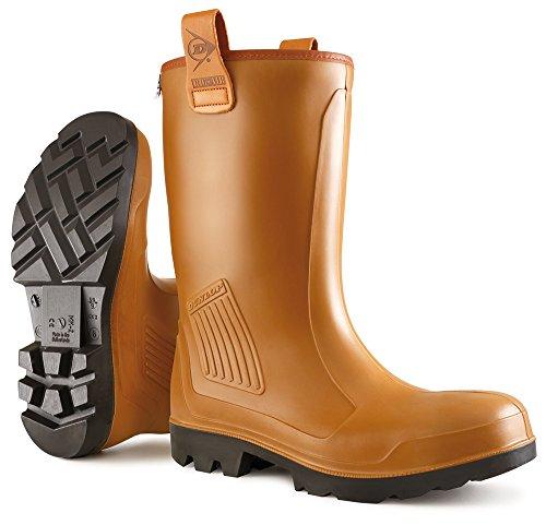 Dunlop Dunlop Protective Footwear Purofort Rig-Air full safety Unisex-Erwachsene Gummistiefel, Braun 46 EU