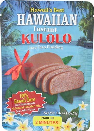 Kauai Tropical Syrup Max Ranking TOP19 52% OFF Hawaiian Instant Taro Luau Pudding Kulolo