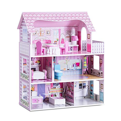 Costzon Dollhouse Toy Family House