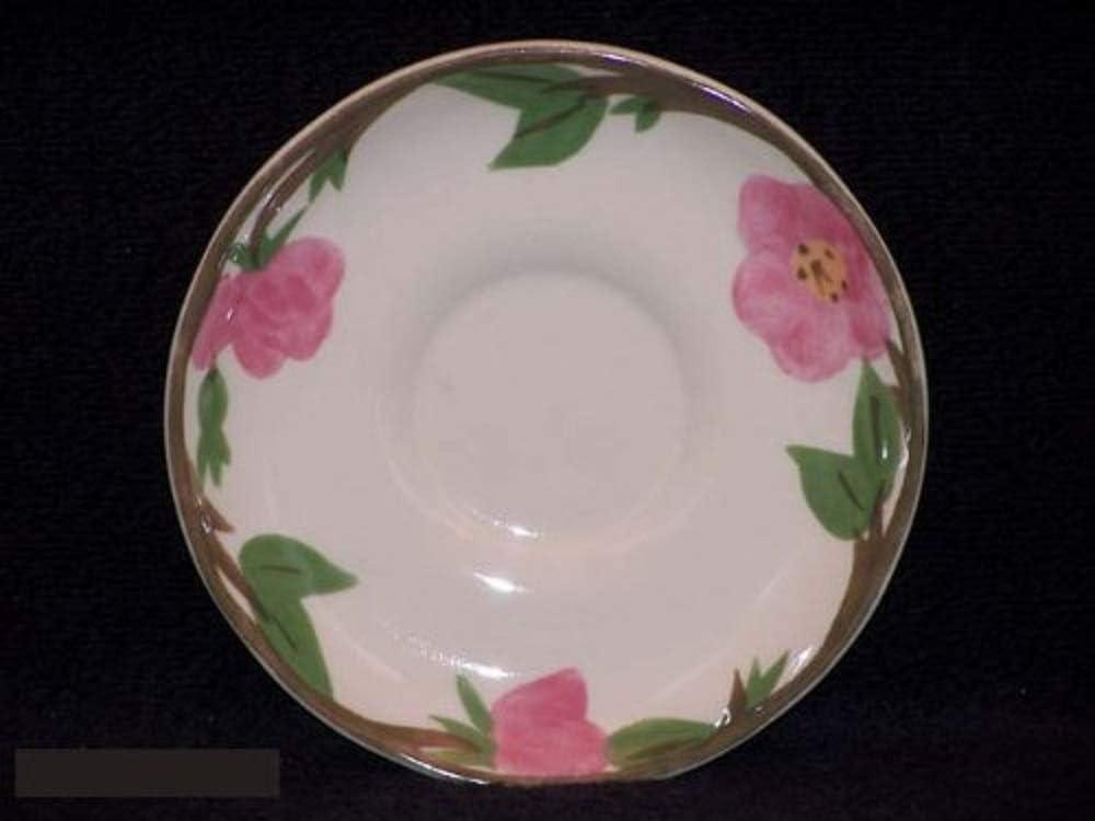 Franciscan Desert Credence Rose Saucers specialty shop Dinnerware