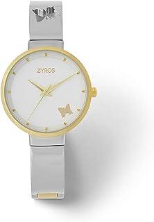 زايروس ساعة يد للنساء، انالوج بعقارب، معدن - ZAA149L060611